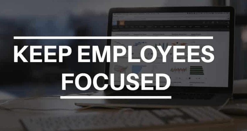 How to Keep Your Employees Focused and Productive?