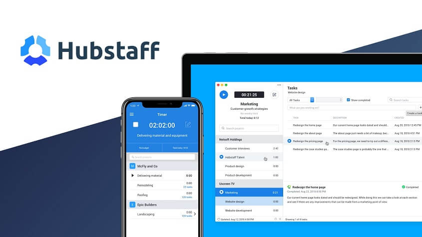 Hubstaff - Best Time tracking tools