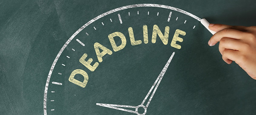 Deadlines in Time Management