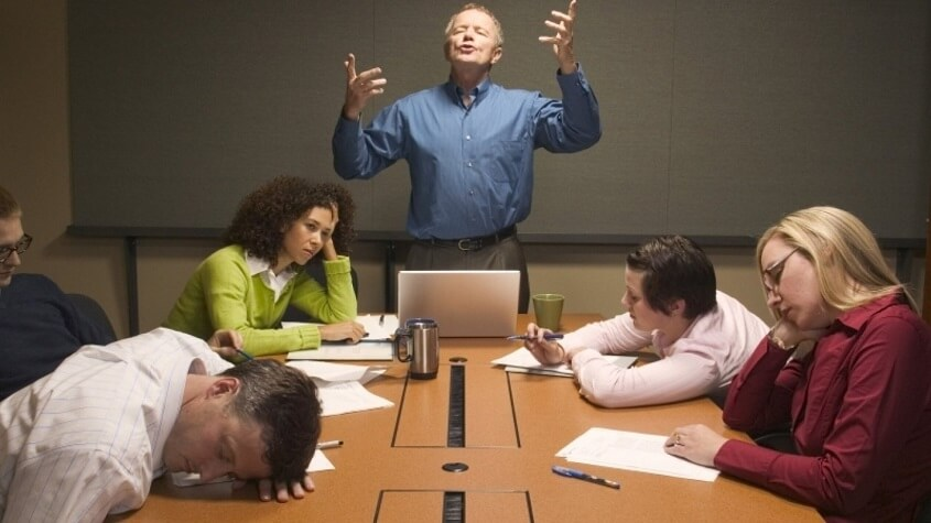 Unnecessary meetings - Avoid These Time-Wasters at Work